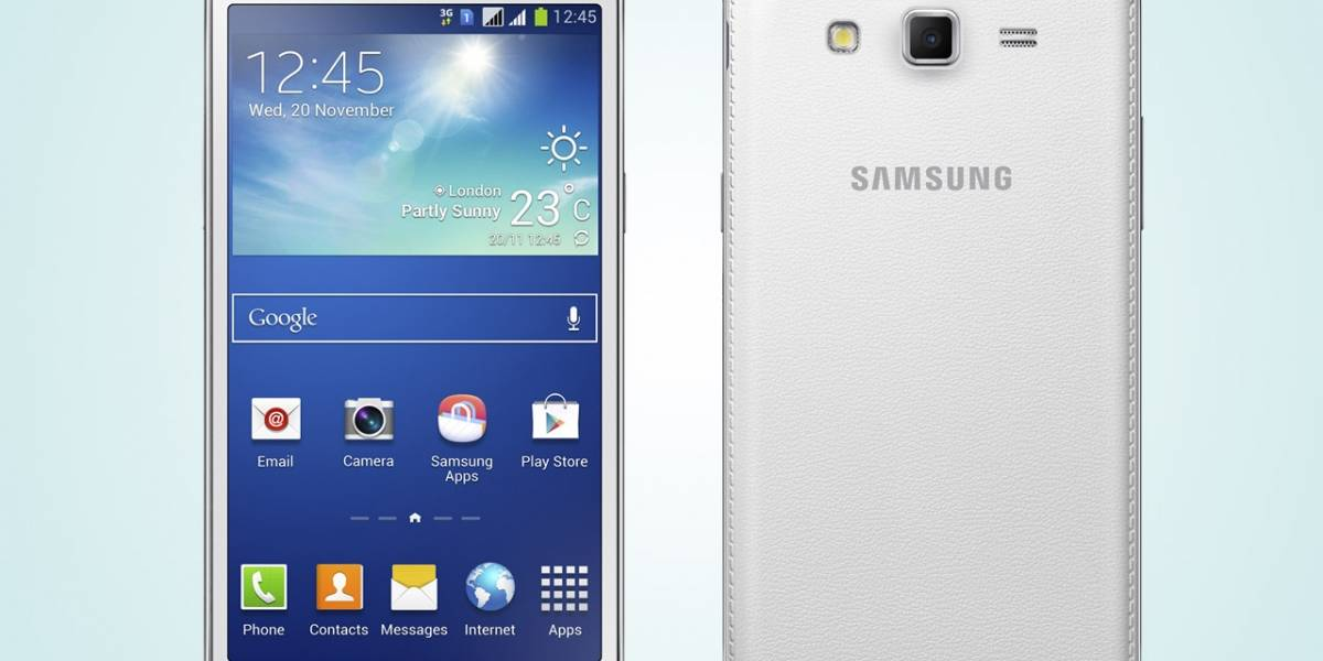 Samsung Galaxy Grand 2 alcanza las 5.25 pulgadas