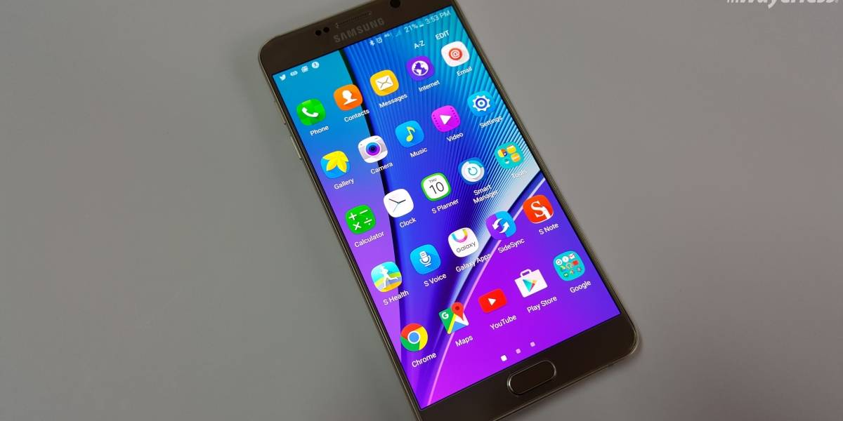 Galaxy Note 5 recibe Grace UX, la interfaz del Galaxy Note 7