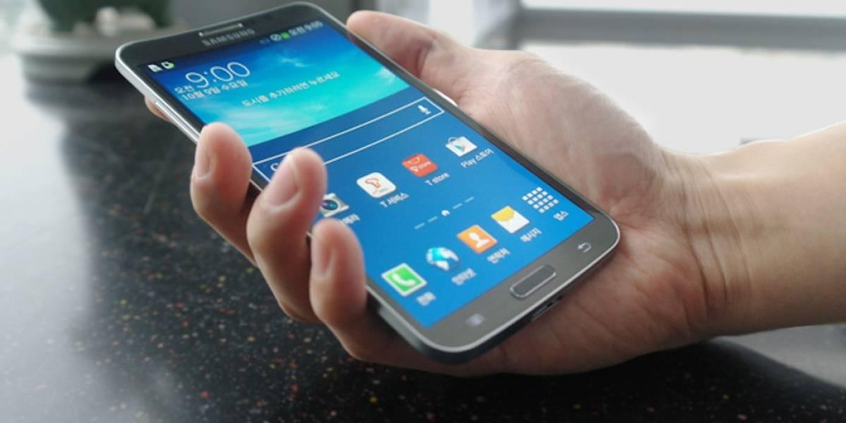 """Samsung Galaxy Round tiene una pantalla curva de 5.7"""""""