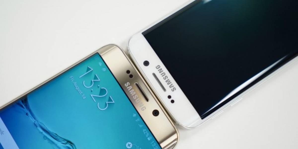 Samsung dejaría de producir pantallas planas para su línea Galaxy S