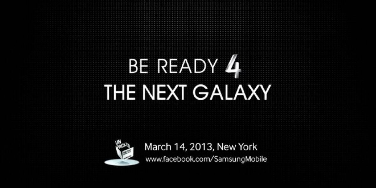 Aparece el primer teaser del Samsung Galaxy S4