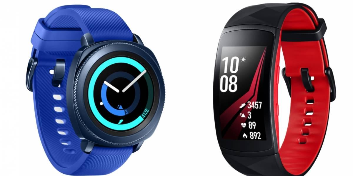 Samsung presenta sus nuevos Gear Fit 2 Pro y Gear Sport #IFA17