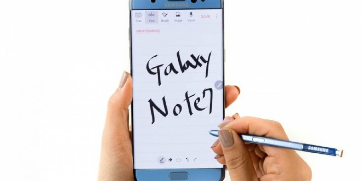Los Galaxy Note antiguos también tendrán la aplicación Samsung Notes del Galaxy Note 7