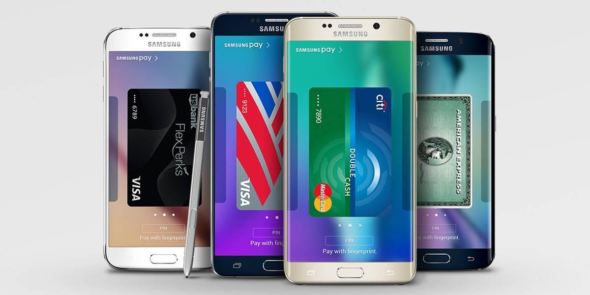 Samsung Pay vendría instalado en casi todos los smartphones de la marca en 2017