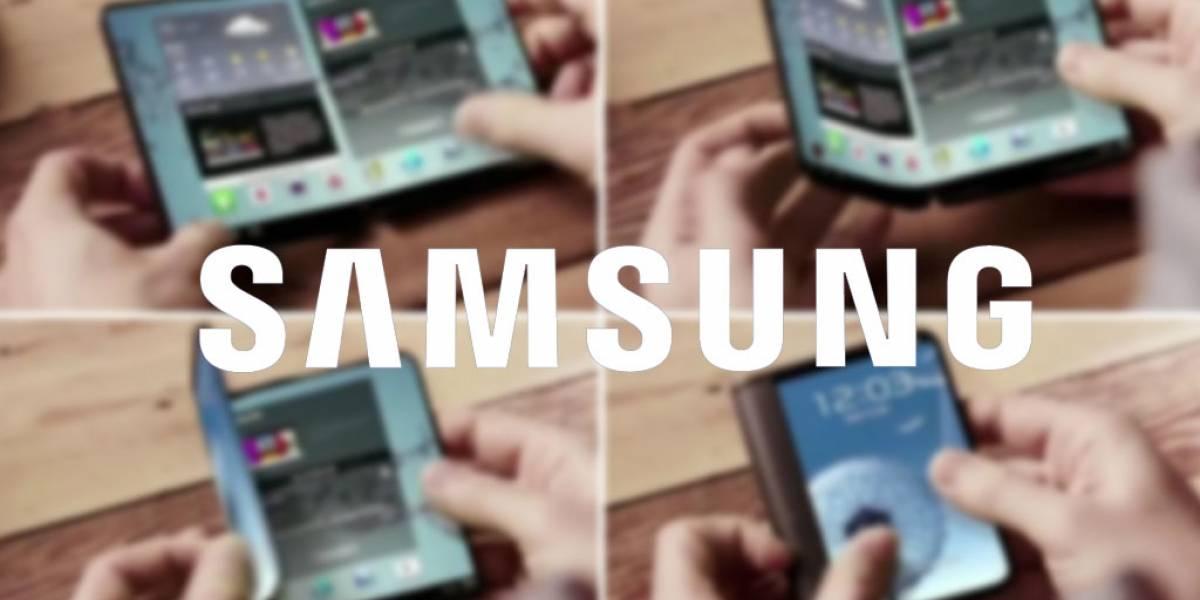 Samsung ahora desarrollaría un smartphone plegable de pantalla doble