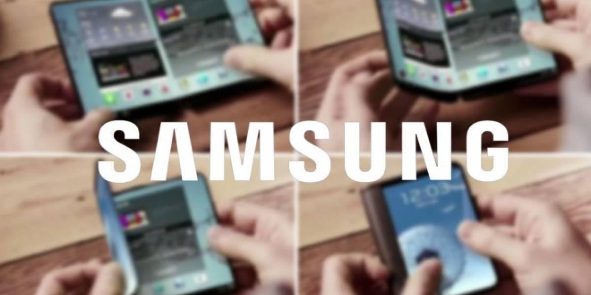 Patente filtra el nombre tentativo del smartphone plegable de Samsung