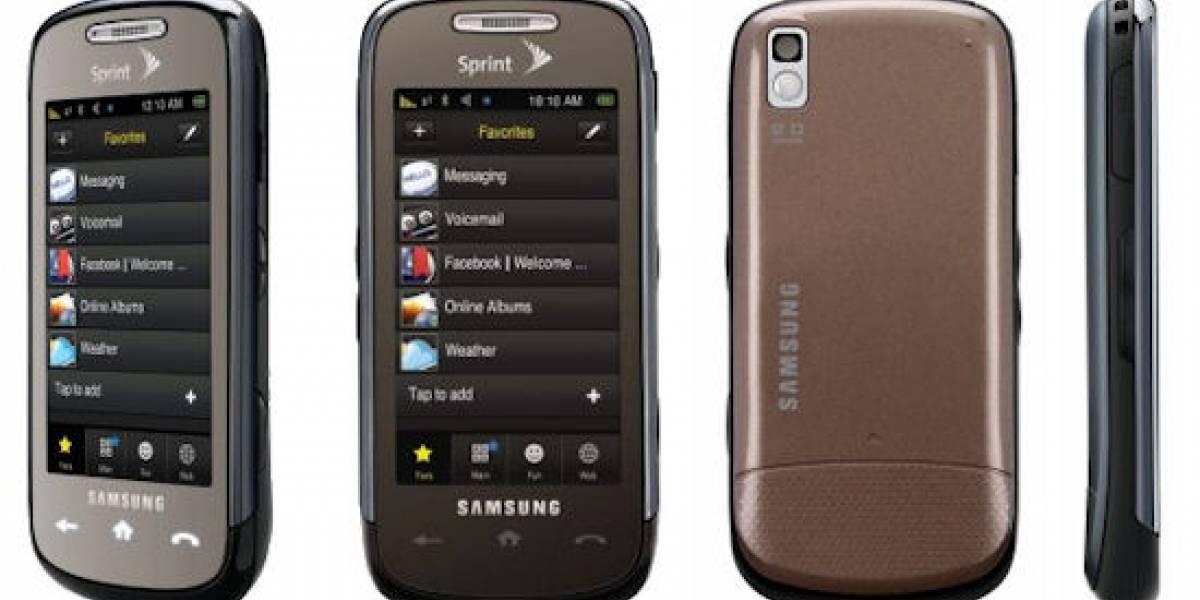 Samsung Instinct S30 ya es oficial