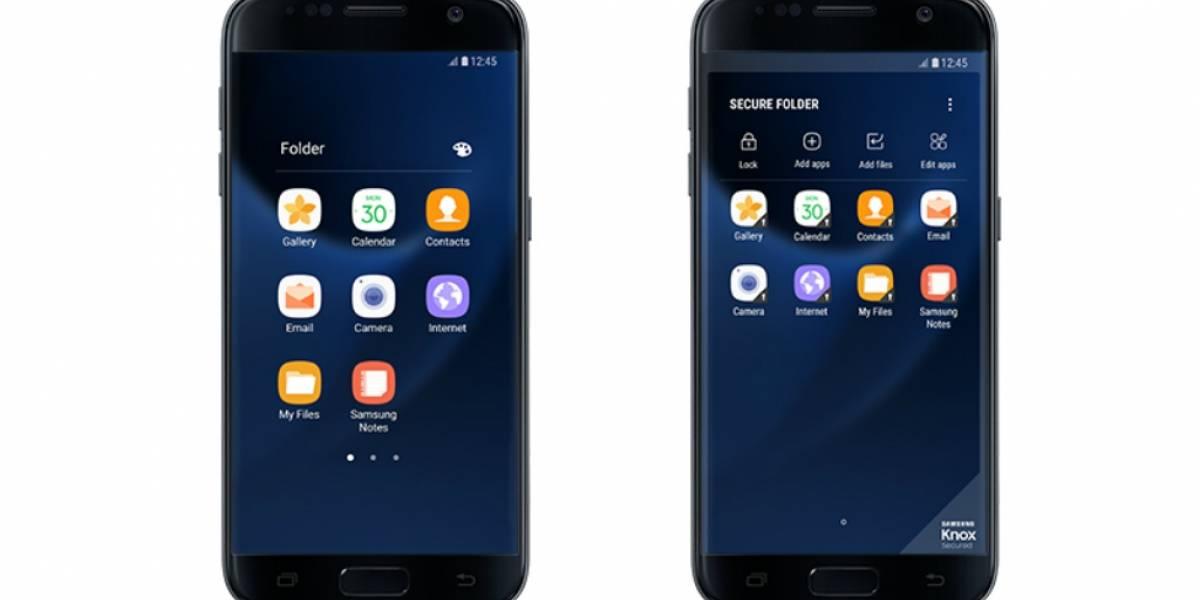 Secure Folder llega a los Samsung Galaxy S7 y S7 edge