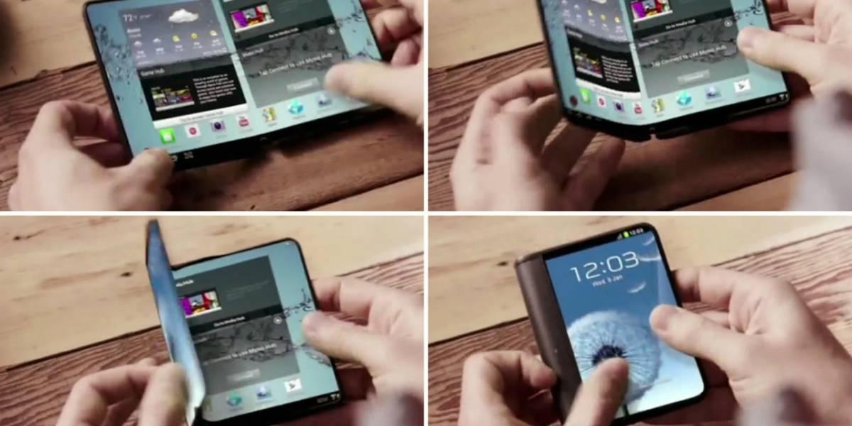 20% de los smartphones serán plegables en el 2019