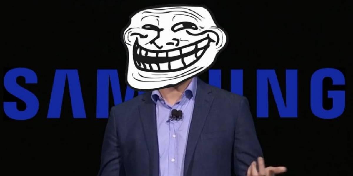 Samsung se burla de Apple por la entrada para audífonos en el iPhone 7