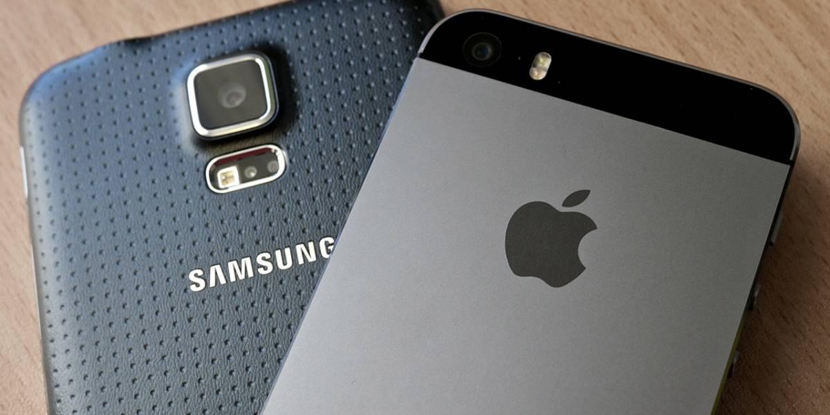"""Apple """"aplastó"""" a Samsung en ventas de smartphones durante el último trimestre 2014"""