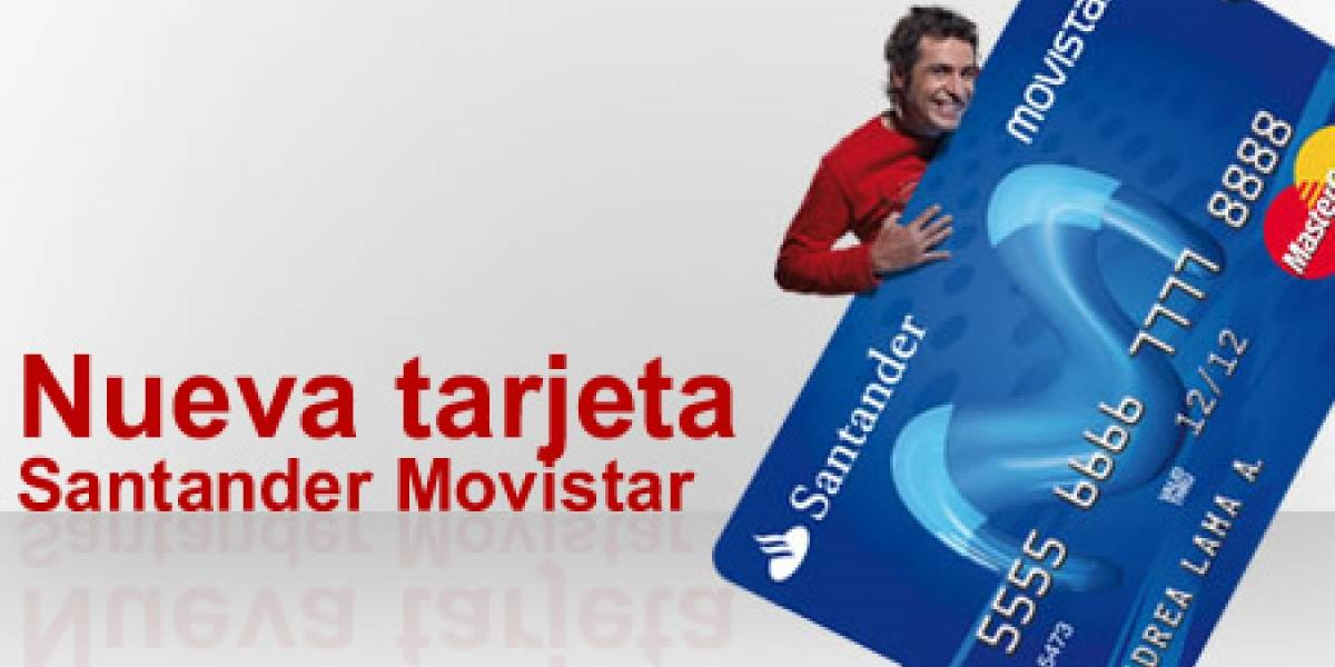 Nueva Tarjeta Santander Movistar