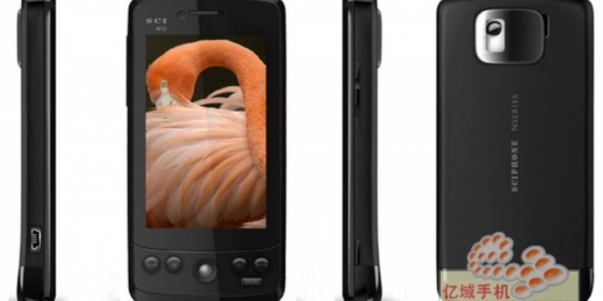SciPhone N12: Un clon extremadamente competitivo y con Android