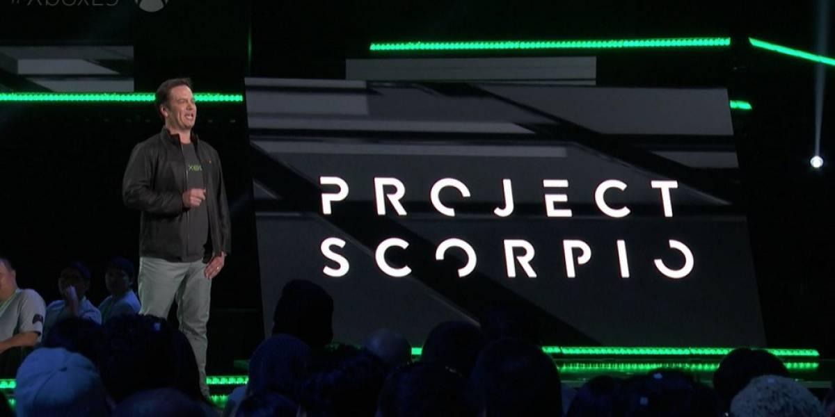 Así es el kit de desarrollo de Project Scorpio