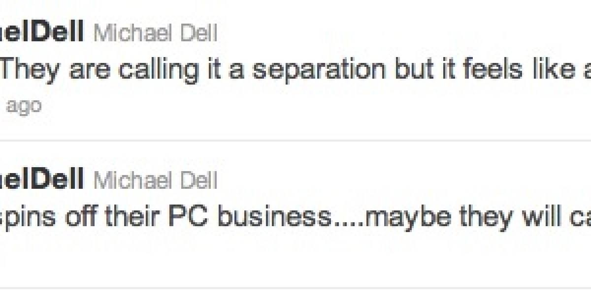 Fundador de Dell confirma rumores de abandono de PCs por parte de HP