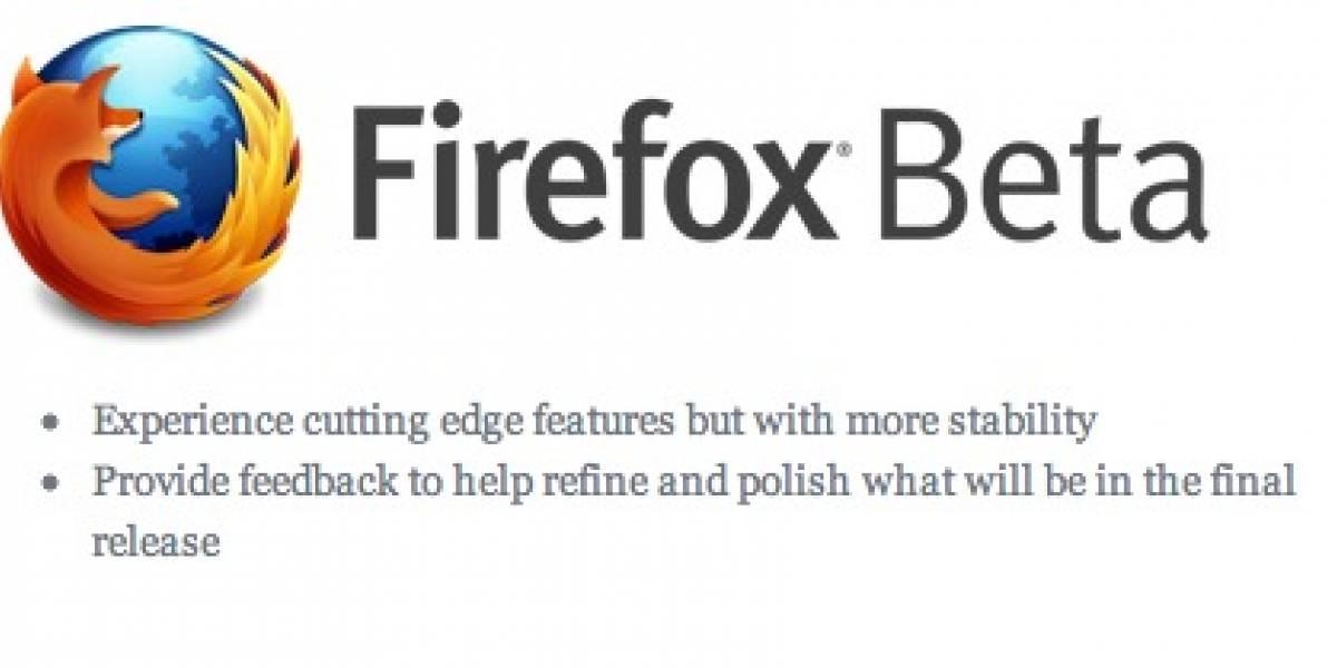 Ya apareció Firefox 7 beta