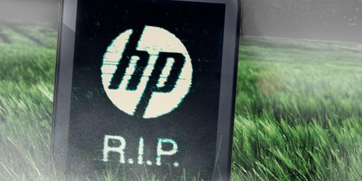 HP mata al TouchPad y abandona WebOS