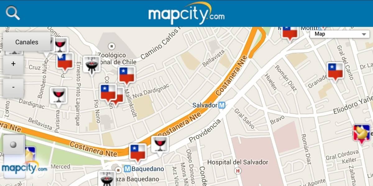 """Encuentra los mejores lugares para este """"18"""" con Mapcity"""