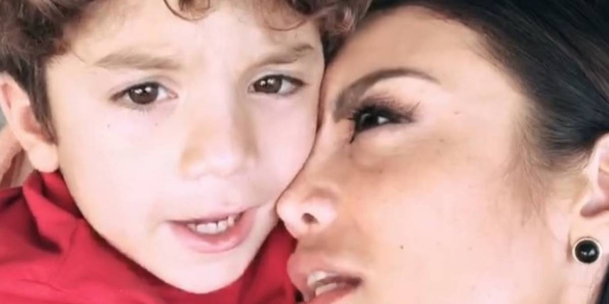 Así reaccionó el hijo de Zuleyka Rivera cuando la vio bailar en Los Grammy
