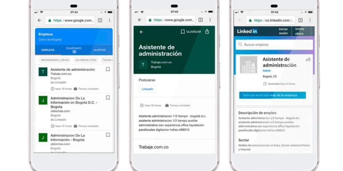 Google lanza asistente virtual para encontrar empleo ideal