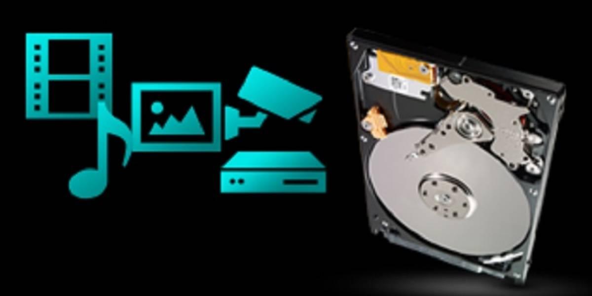 Seagate lanza sus nuevos discos duros Video 2.5 HDD
