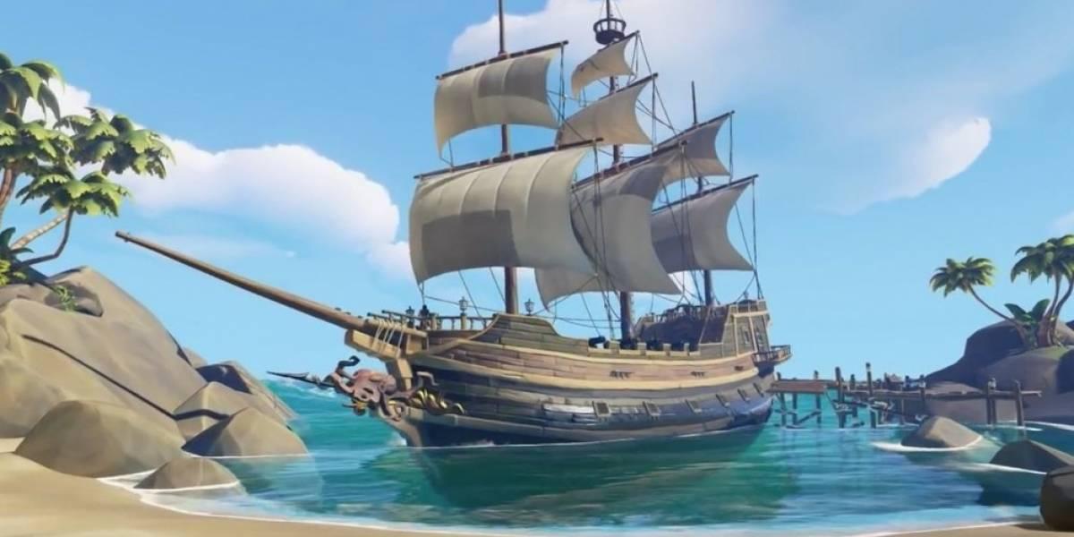 Rare muestra nuevo avance de Sea of Thieves