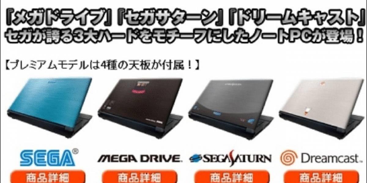 Sega regresa al negocio del hardware con sus nuevas notebooks Sega Note PC