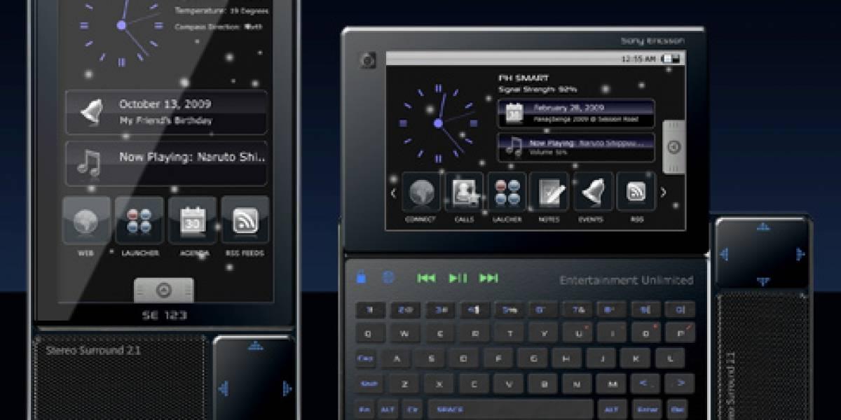 Concepto: Sony Ericsson Ruriko es potente como un netbook