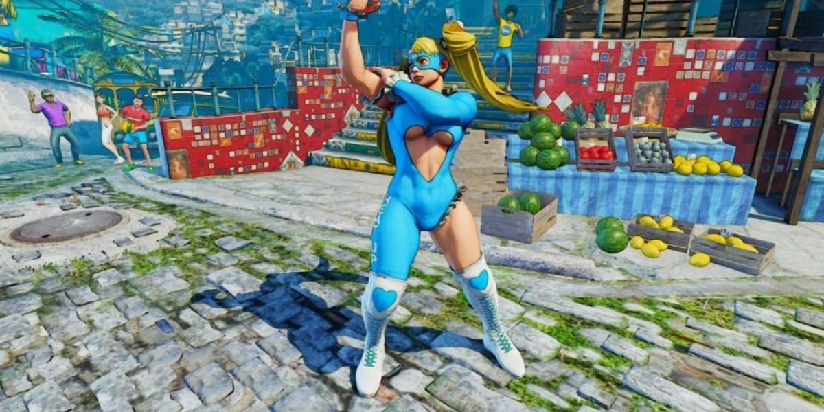 Capcom revela más detalles de Street Fighter V
