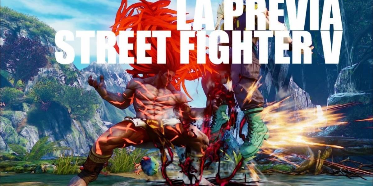 La Previa: Street Fighter V