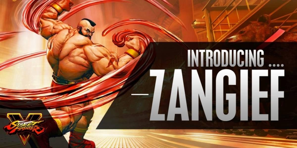 Street Fighter V: Tráilers de presentación de Zangief, Nash y Necalli