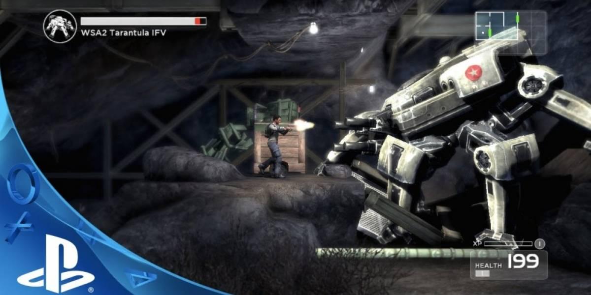 Shadow Complex Remastered ya tiene fecha de salida en PS4 y PC