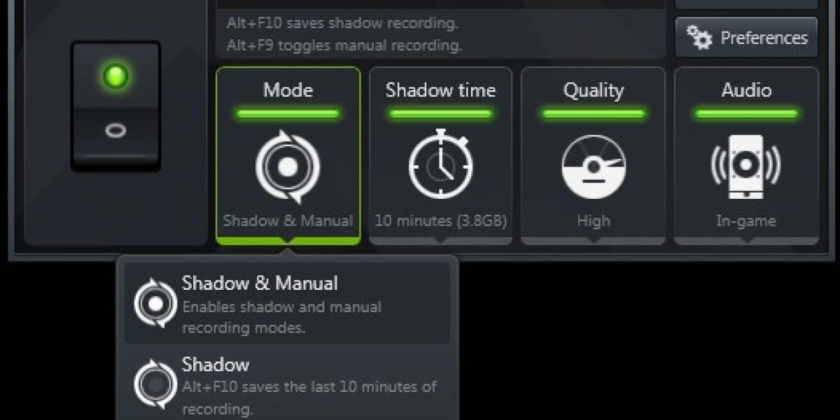 NVIDIA anuncia GeForce ShadowPlay