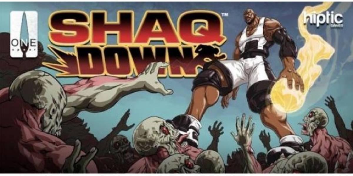 Shaq Down, el videojuego de Shaquille O'Neal para iOS y Android