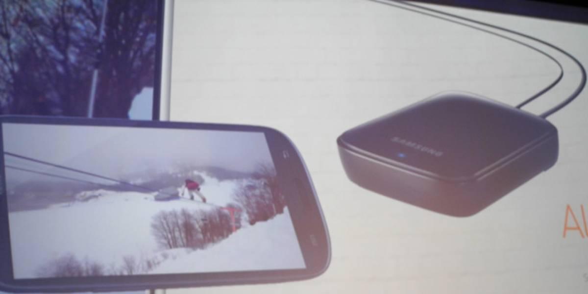 """""""S Beam"""" y AllShare, funciones para compartir archivos del Galaxy S III"""