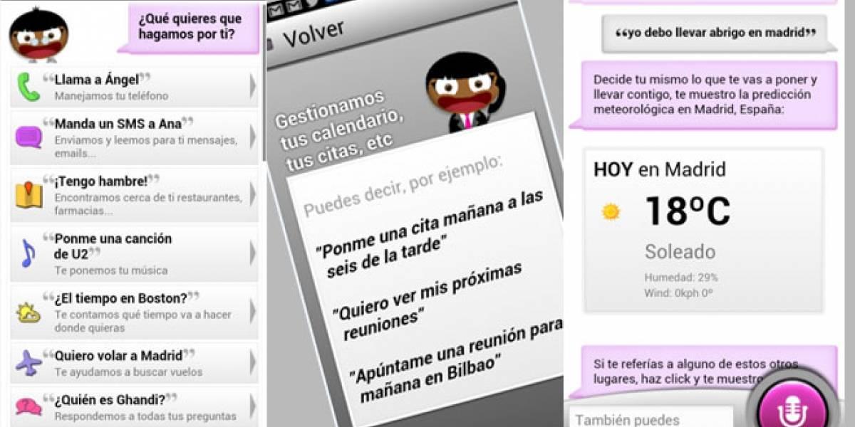 Ya está disponible Sherpa, el 'Siri' español para Android y aquí le echamos un vistazo