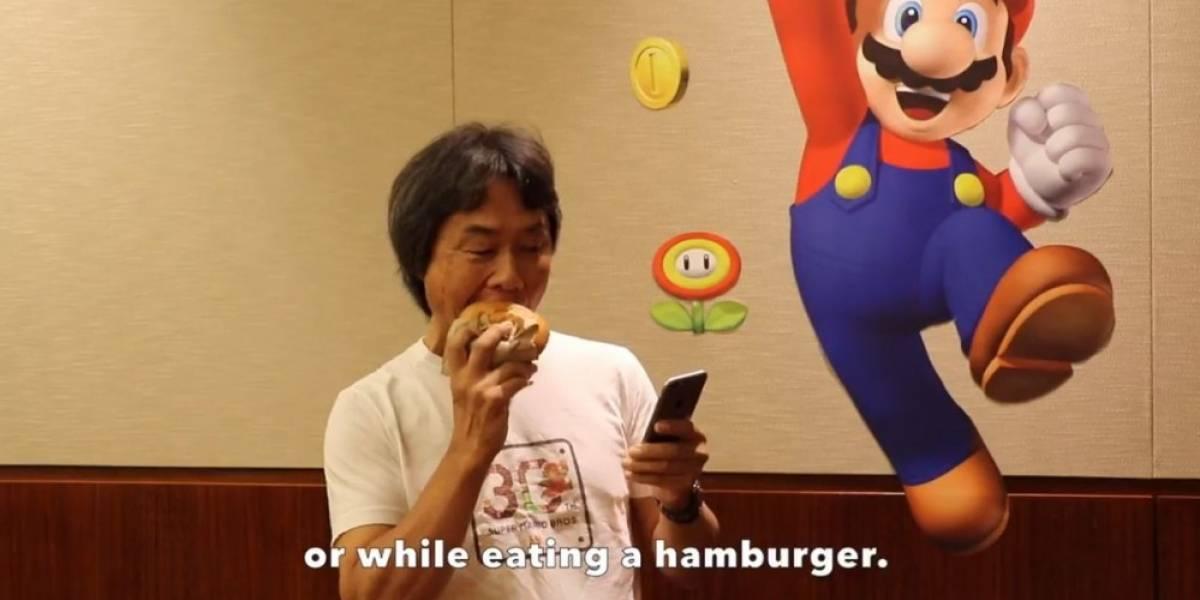 Shigeru Miyamoto muestra cómo podremos jugar Super Mario Run