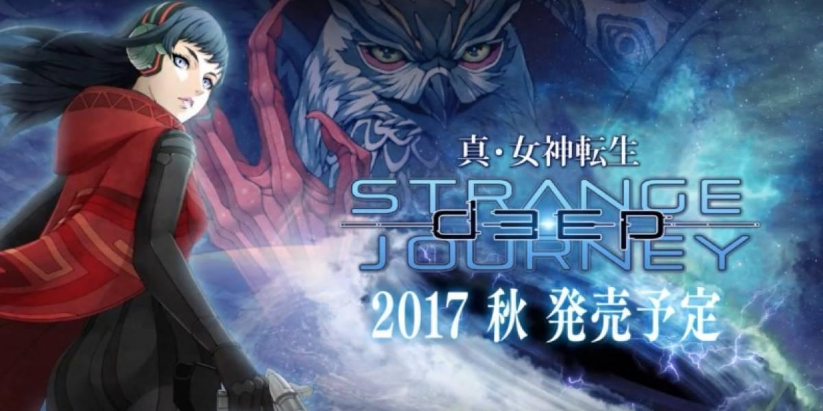 Se anuncia Shin Megami Tensei: Deep Strange Journey para 3DS