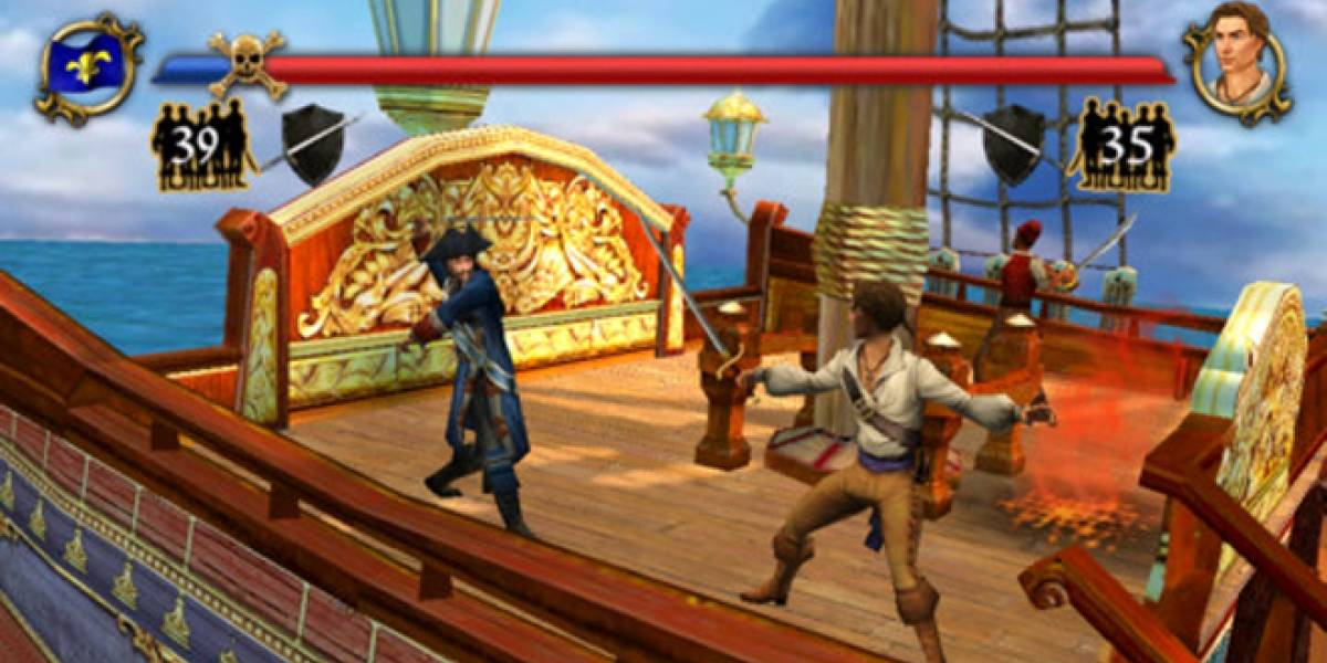 Sid Meier's Pirates desembarcan en el iPhone