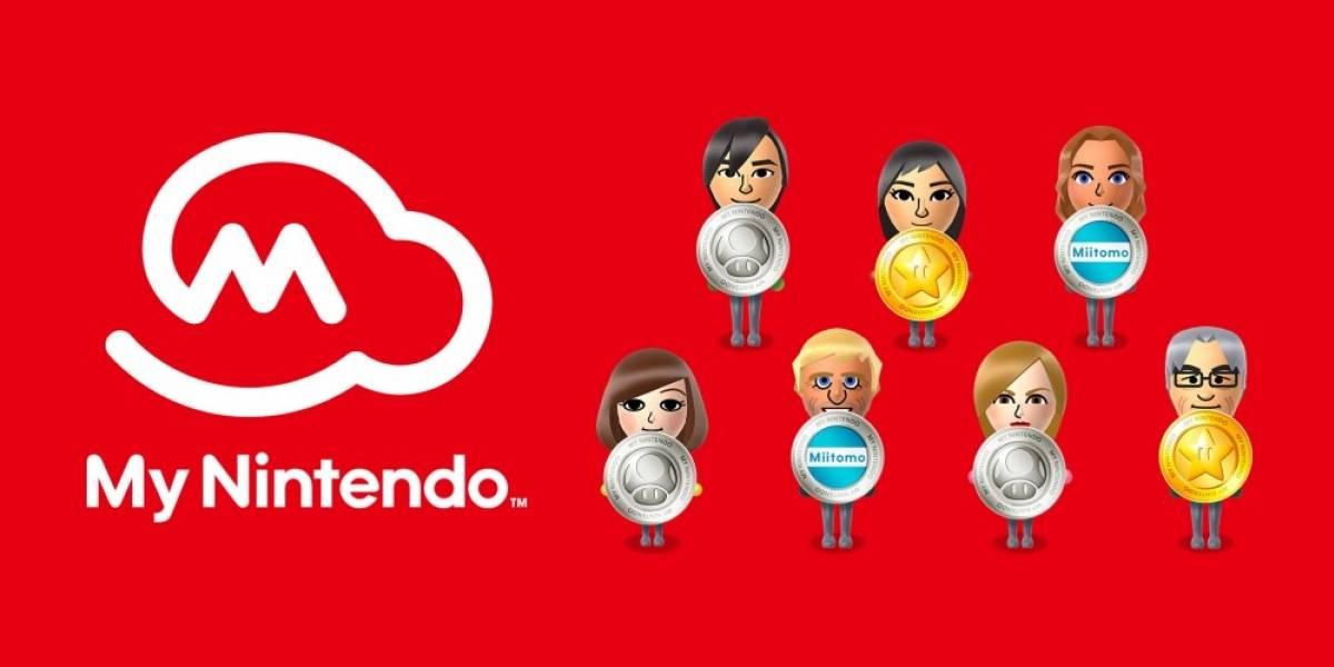 My Nintendo agrega código QR para cada usuario