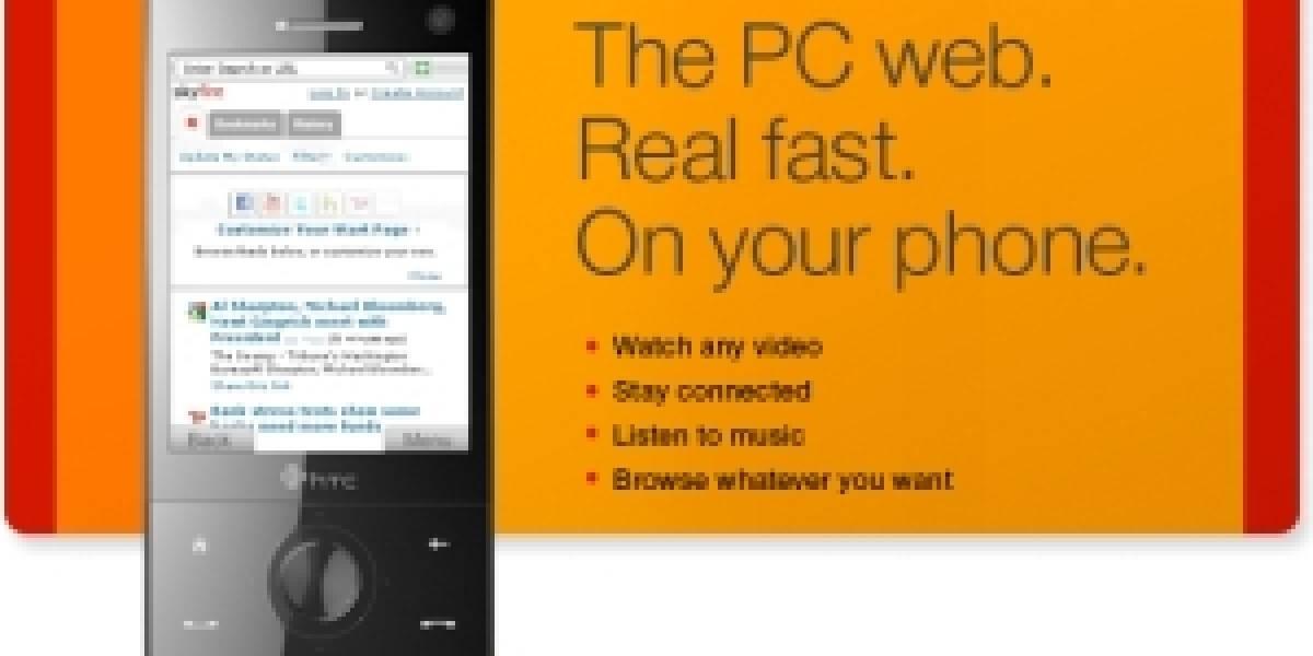 Actualización de Skyfire para Symbian S60 y Windows Mobile