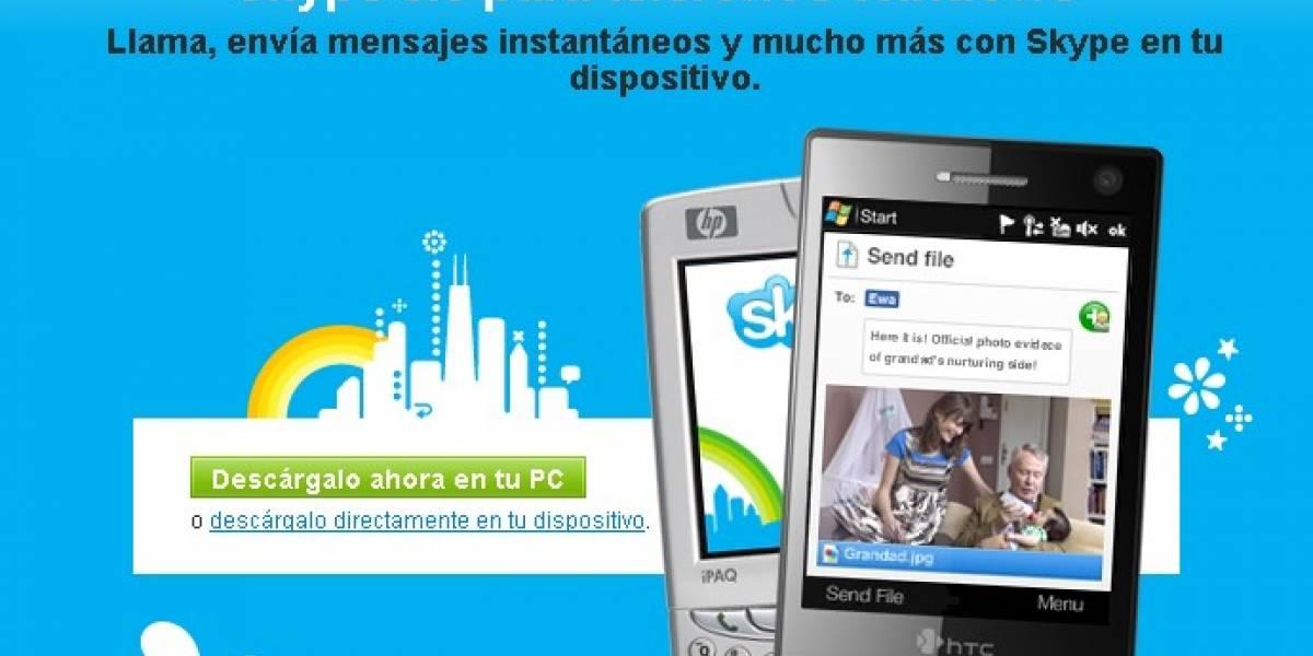 Skype 3.0 para Windows Mobile