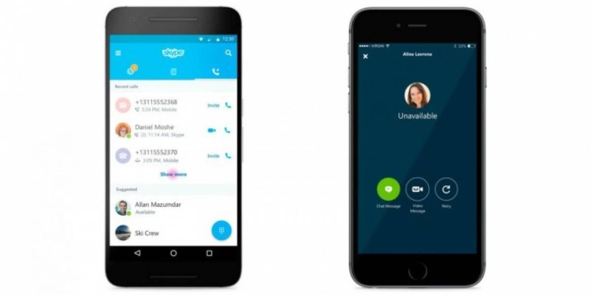 Skype se actualizará con mejoras en las llamadas tradicionales
