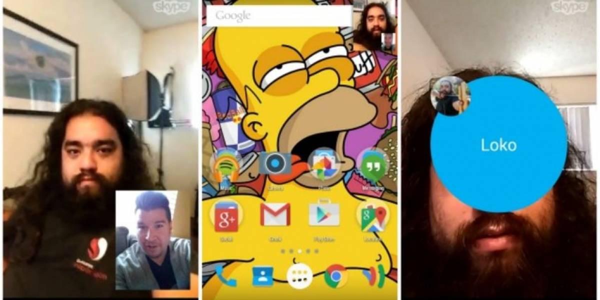 Skype para Android se actualiza con videollamadas 'multitarea'