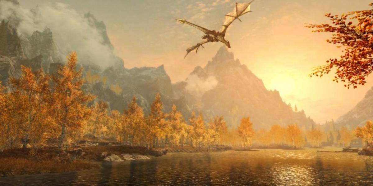 Skyrim Special Edition tiene nuevo tráiler de jugabilidad