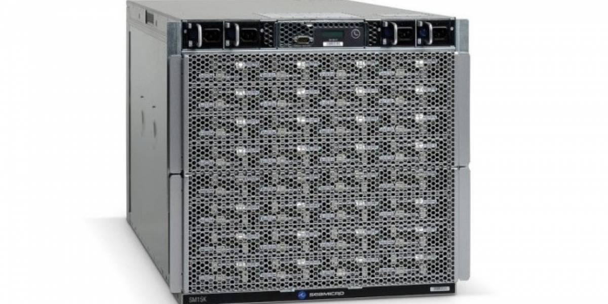 SeaMicro presenta su nuevo servidor SM15000