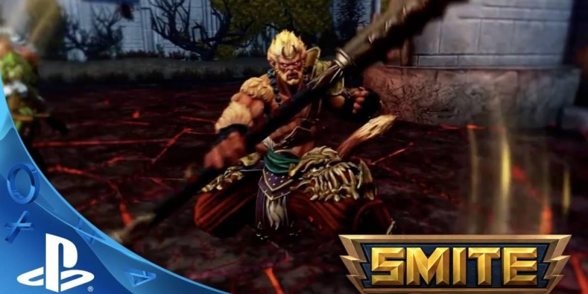 Smite: Battleground of the Gods también se lanzará en PS4