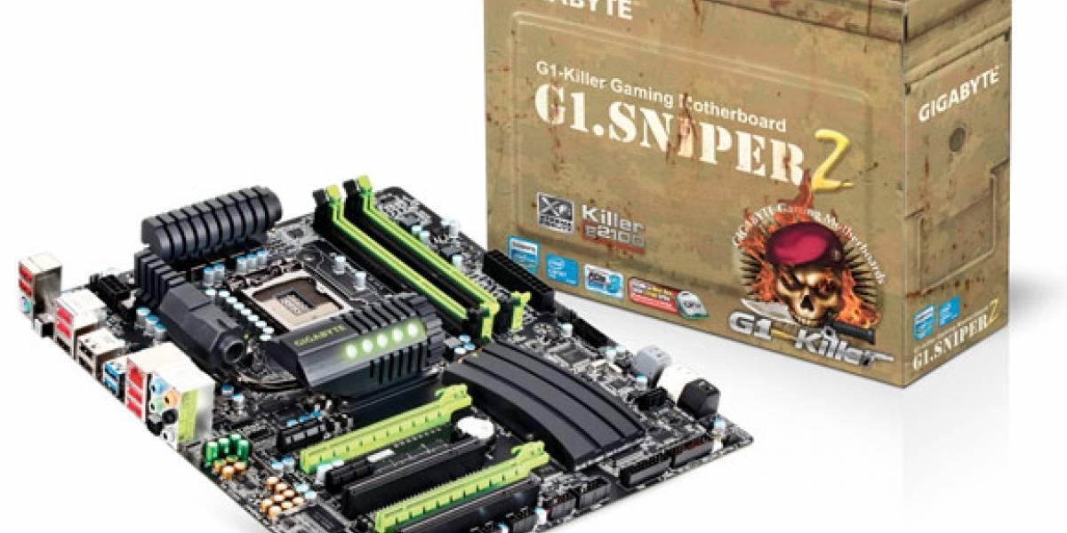 Gigabyte presenta placa madre G1.Sniper 2 para gamers