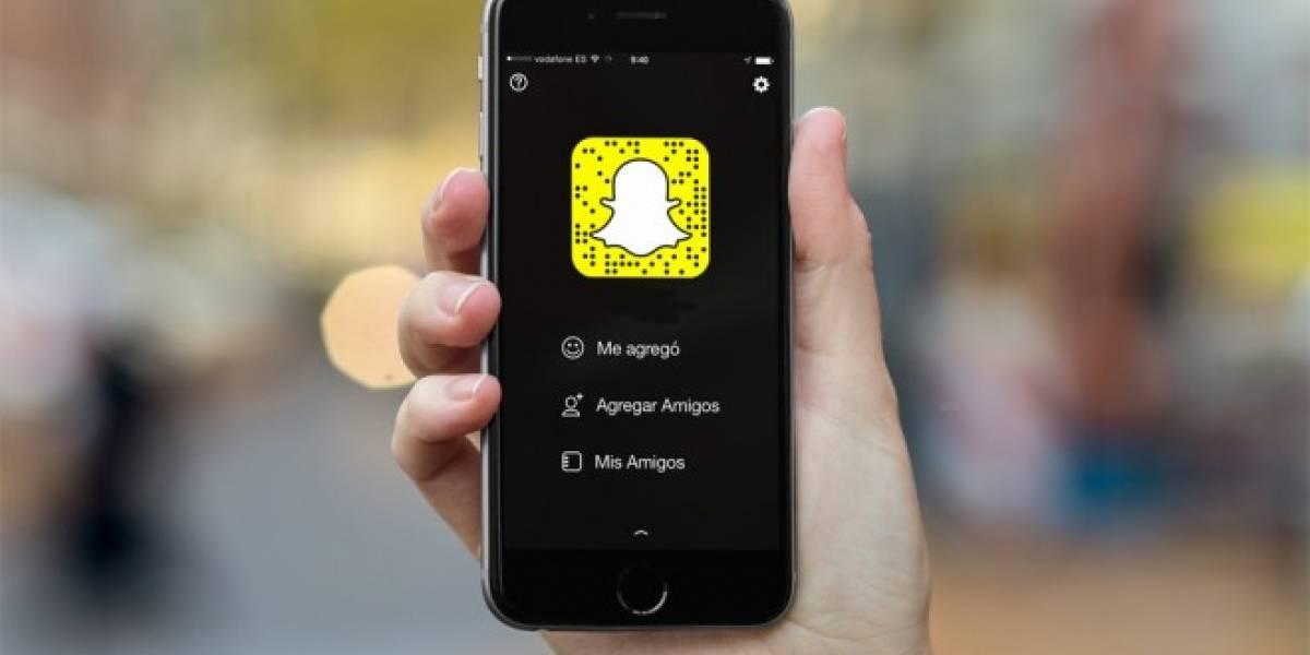 Snapchat ya es más popular que Facebook en iOS
