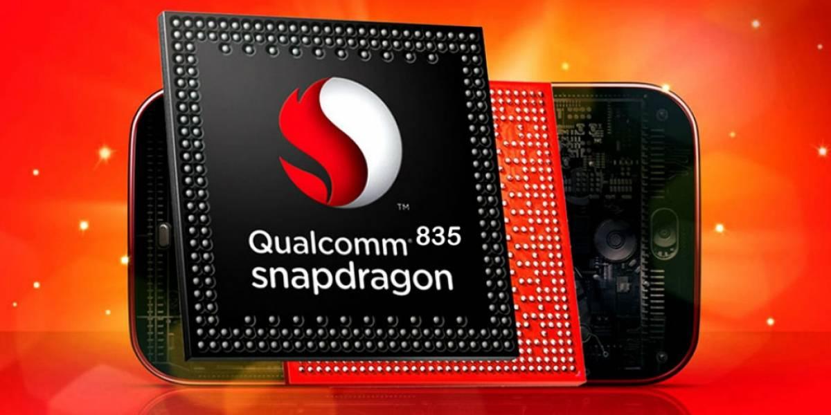 Qualcomm Snapdragon 835 se deja ver en benchmarks